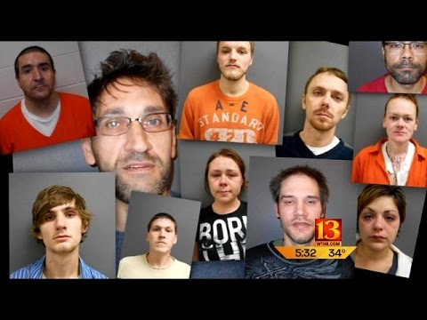 Connersville Heroin Arrests Youtube