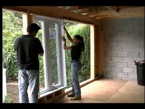 Fenetres installation youtube for Fenetre galandage