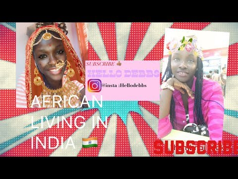 Life of an African living in India 🇮🇳 /First video