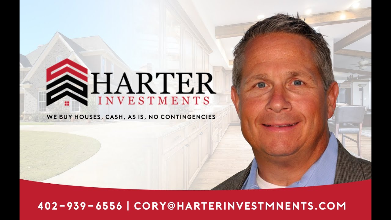 Currently going through Foreclosure in Omaha or Council Bluffs. Harter Investments. 402-939-6556