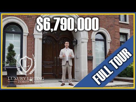 Toronto Mansion Tour: $7.19 MILLION LUXURY MANSION TOUR | BRIDLE PATH