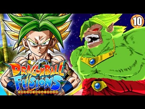 LEGENDARY SUPER GREAT APE BROLY!!! | Dragon Ball Fusions Walkthrough Part 10