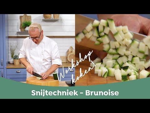 Workshop Koken: Lesje Brunoise Snijden Met Rudolph Van Veen - FoodFirst Network