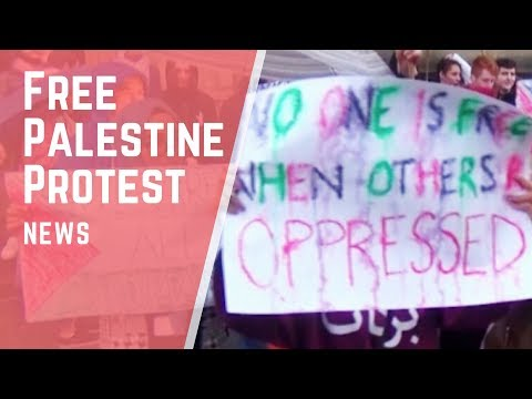 Friends of Palestine Protest