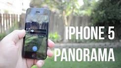 iPhone 5: Panorama Mode