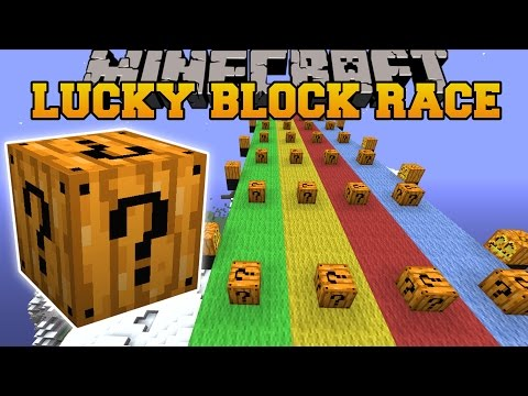 Minecraft: SPOOKAY HALLOWEEN LUCKY BLOCK RACE - Lucky Block Mod - Modded Mini-Game