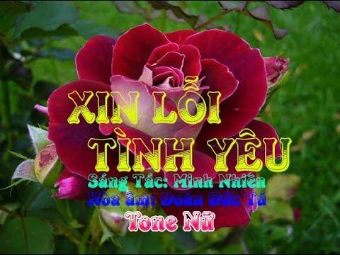 karaoke-xin-lỗi-tình-yêu-(tone-nữ)🎤