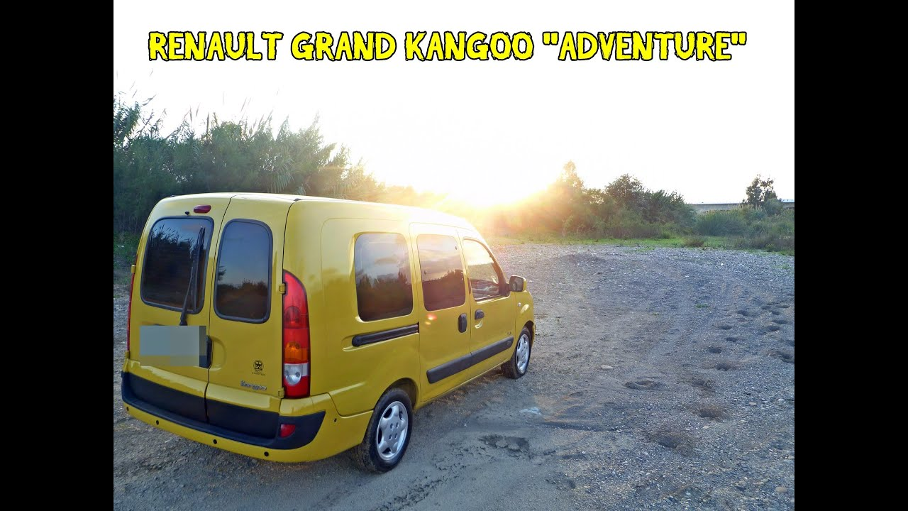 renault grand kangoo adventure mini camper acl camper youtube. Black Bedroom Furniture Sets. Home Design Ideas