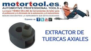 Extractor de Tuercas Axiales