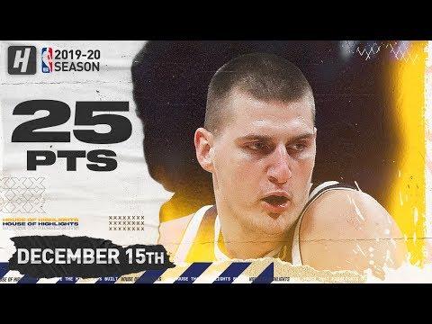Nikola Jokic 25 pt highlights