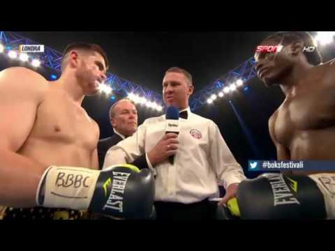 world heavyweight boxing championship 2016 ı Paddy Gallagher vs Tamuka Mucha