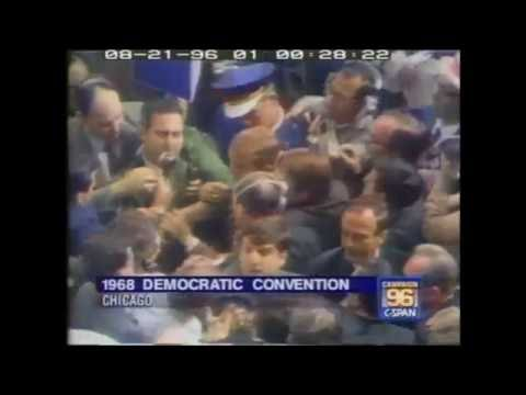 Chicago 1968: Violence outside & on the Democratic convention floor