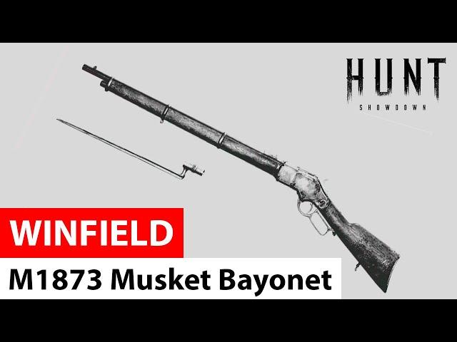 Winfield M1873 Musket Bayonet in Hunt: Showdown