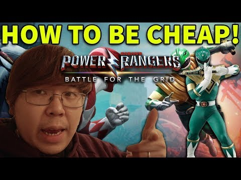 Power Rangers BATTLE FOR THE GRID!!! CHEAP TACTICS + ONLINE MATCHES