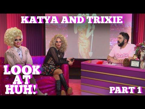 KATYA & TRIXIE MATTEL on LOOK AT HUH! Part 1