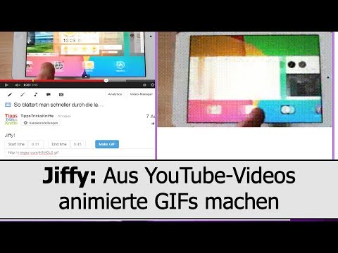 YouTube-GIFs: Aus Jedem YouTube-Video Animierte GIFs Machen Mit Jiffy