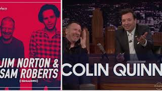 "Jim and Sam-Colin Quinn embarrasses himself on ""The Tonight Show w/Jimmy Fallon"" w/video"
