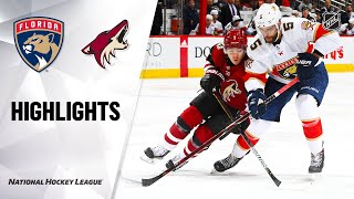 NHL Highlights | Panthers @ Coyotes 2/25/20