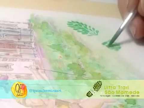 Pintura Prémio para Ultra Trail São mamede