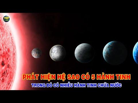 Phát hiện hệ sao có nhiều Hành tinh chứa nước giống Trái đất | Khoa học vũ trụ - Top thú vị |