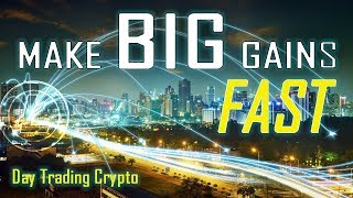 HOW TO DAY TRADE CRYPTO FOR EASY DAILY PROFITS - STEP BY STEP GUIDE