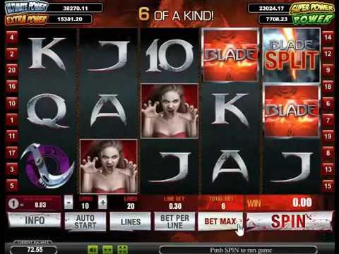 Игровой автомат Blade от Playtech