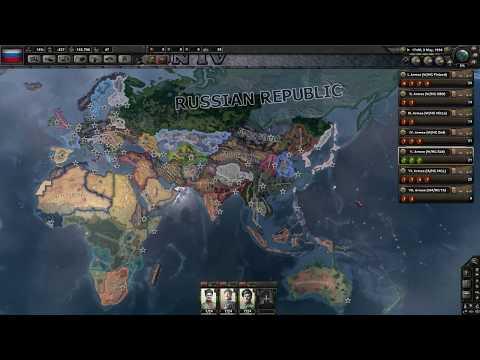 Magyar Let's Play Hearts of Iron 4 Kaiserreich - Oroszország - 1. Rész