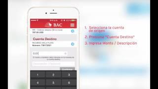 BAC Tutoriales Transferencias Locales Aplicaciones Móviles