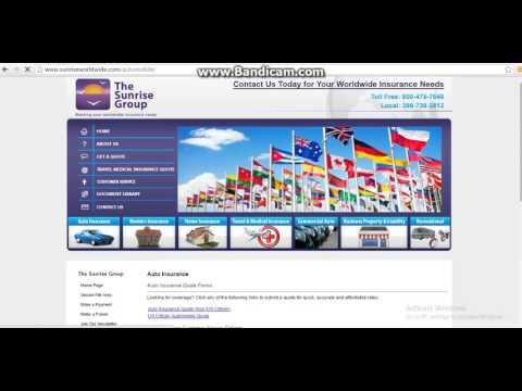 Auto Insurance in USA for visitors