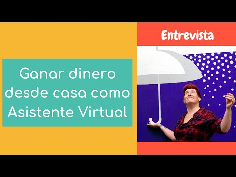 Ganar dinero desde casa como Asistente Virtual