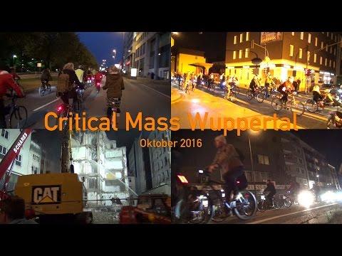 Critical Mass Wuppertal - Oktober 2016