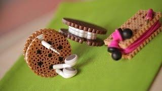 DIY perler التعليمية الخرز الحبل منظم
