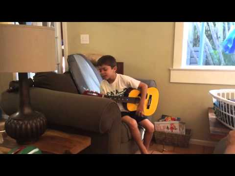 Makana, vaccine damaged/ ASD, musically gifted!