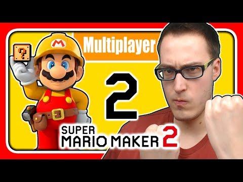 Livestream! Super Mario Maker 2 [Multiplayer / German] (Stream 2)
