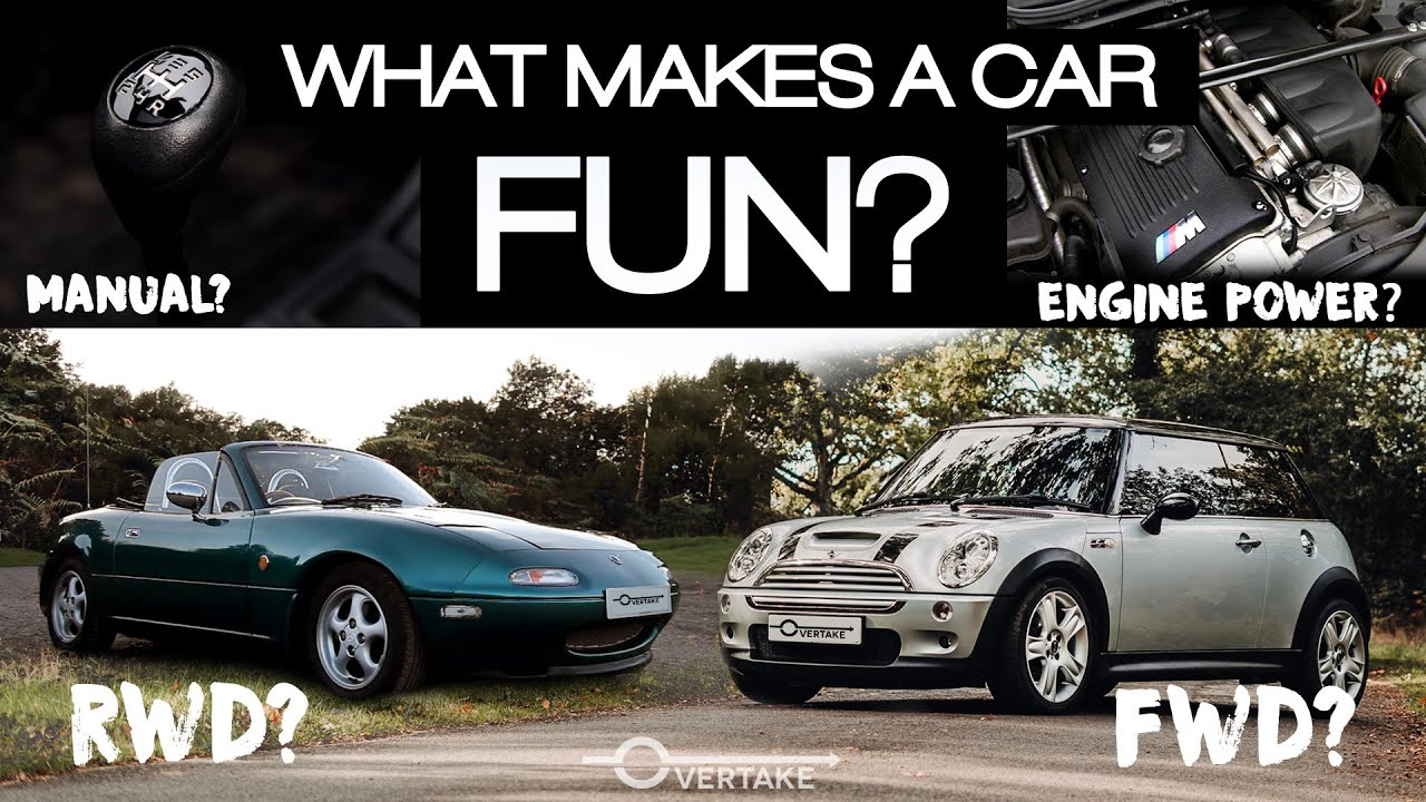What makes a car FUN to drive? We take the R53 Mini Cooper S out for a discussion | OVERTAKE