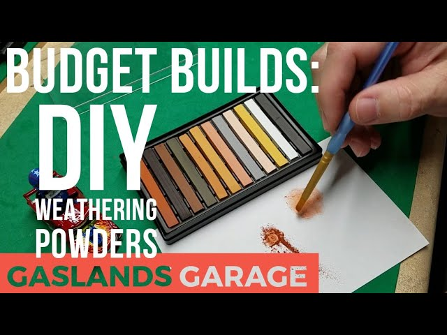 Gaslands Garage: DIY Weathering Powders