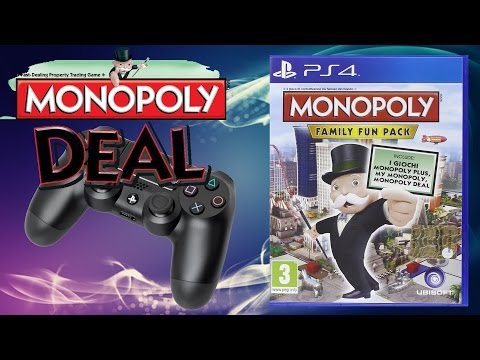 Gameplay Review - MONOPOLY FAMILY FUN PACK - Deal - Part #01