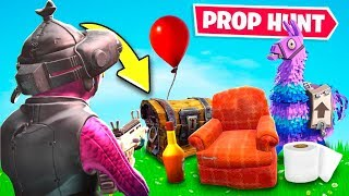 2000 IQ Prop Hunt hiding place HACK.. (Fortnite Creative Mode)