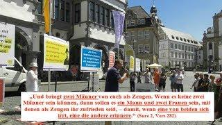 Die Stellung der Frau im Islam -  Stürzenberger in Paderborn