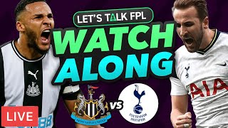 Newcastle United vs Tottenham Hotspur with Let's Talk FPL Live | Fantasy Premier League Tips 2020/21