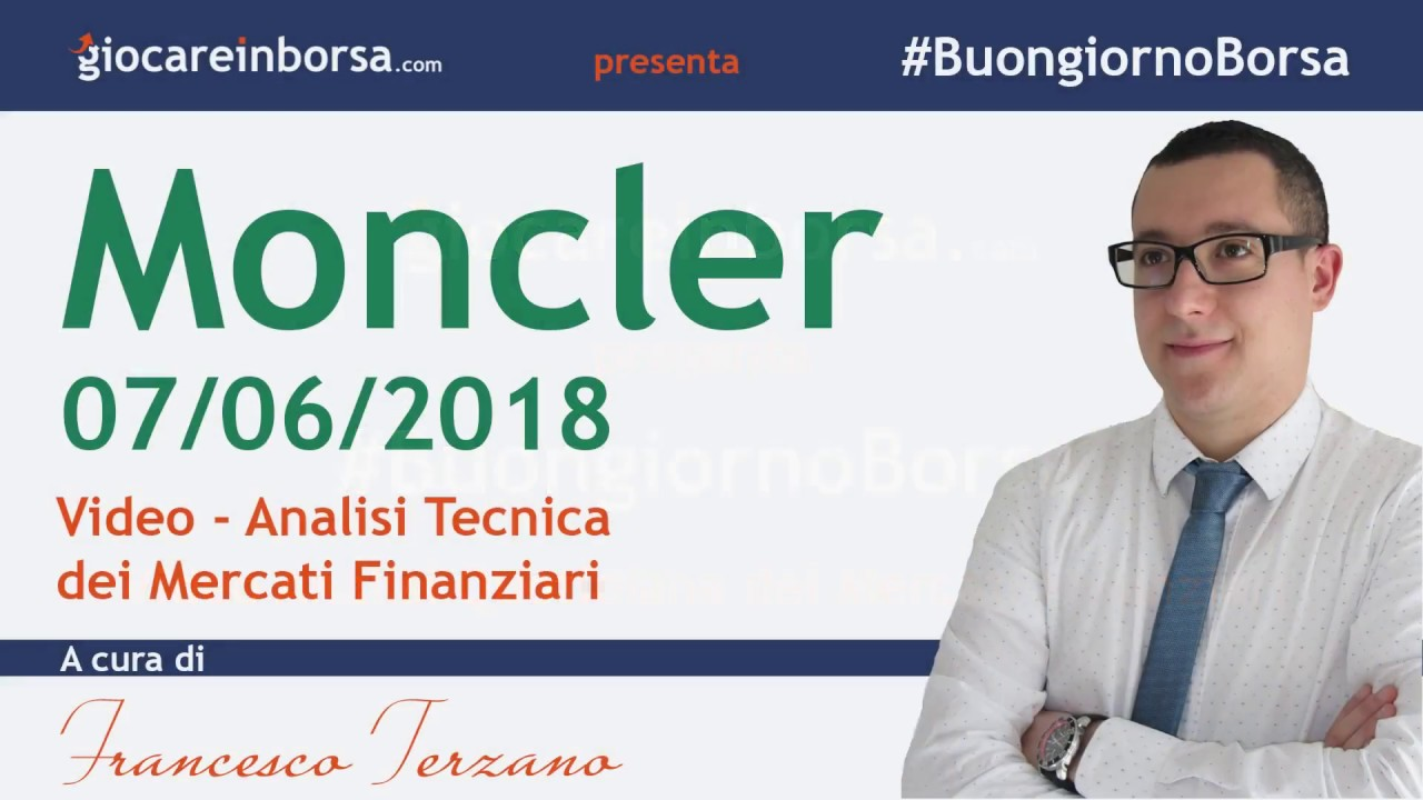moncler analisi tecnica