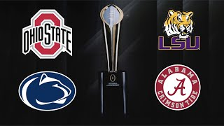 REACTING TO THE COLLEGE FOOTBALL PLAYOFF RANKINGS