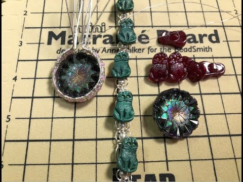 🎥  70 Acres Studio Tuesday Livestream - Wire wrapping Vintage Czech Buttons
