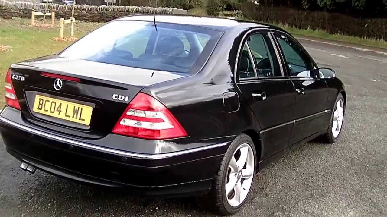 Www Bennetscars Co Uk Mercedes Benz C270 Cdi Avantgarde Se
