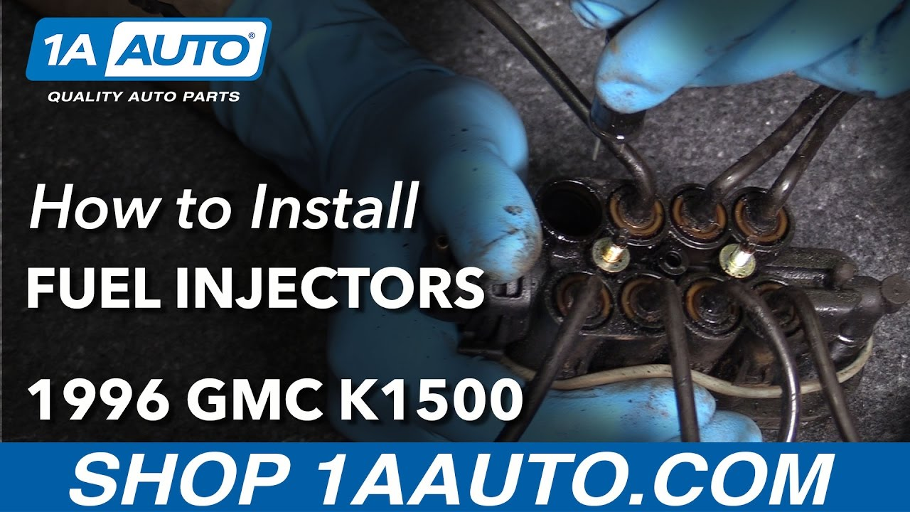 How to Replace CFI Fuel Injectors 94-98 GMC K1500