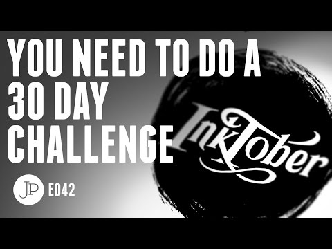 Inktober Daily Drawing Challenge 2016 | Draw, Share, Win