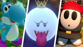 Mario Tennis Aces - All Coop Challenges (A Rank)