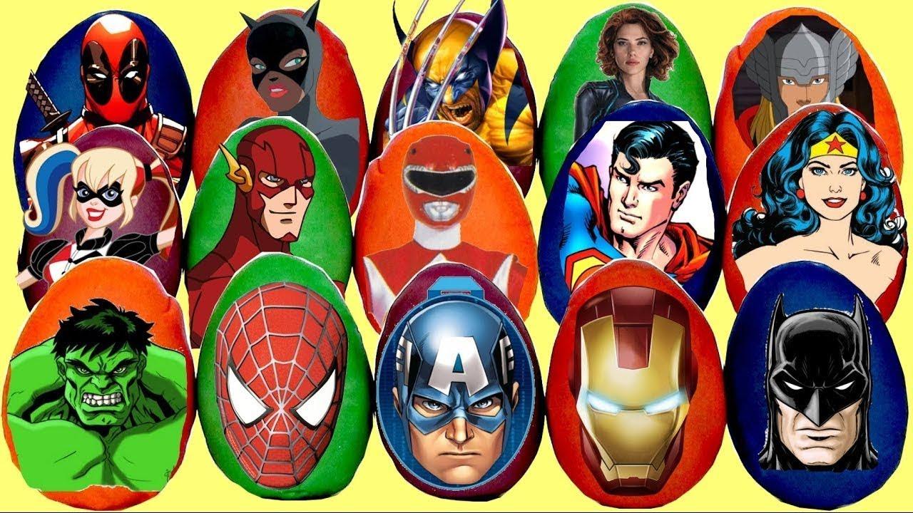 superhero surprise eggs