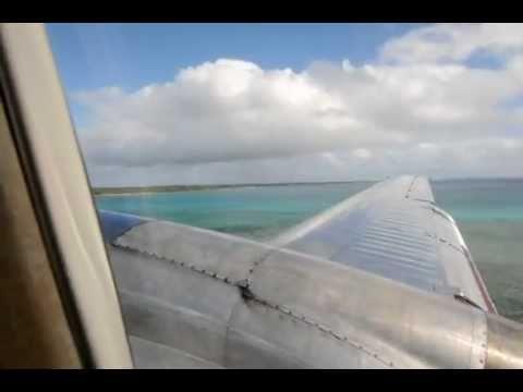 Landing in Ha'apai (HPA), Tonga