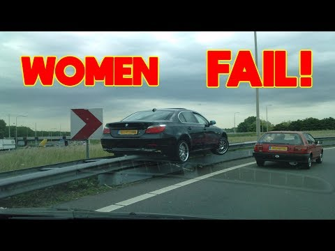 Funny WOMEN FAIL IN TRAFFIC – 💋 Women Drivers NO Skill | Funny Fails  best of 2018 👠 #3